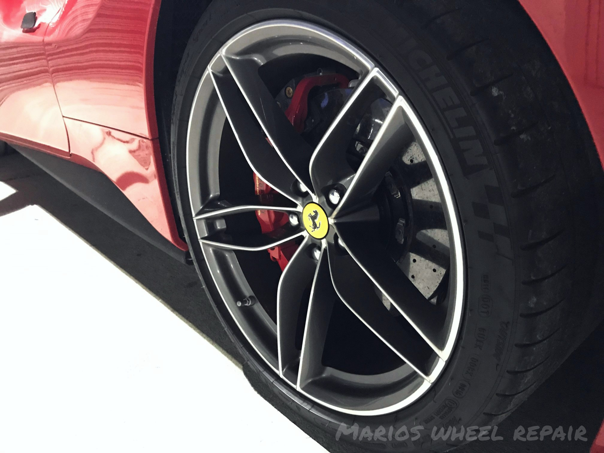Diamond cutting is a precise process that takes much longer than regular alloy wheel refurbishment and can only be done several times as a ridiculous amount of alloy would eventually fade away.