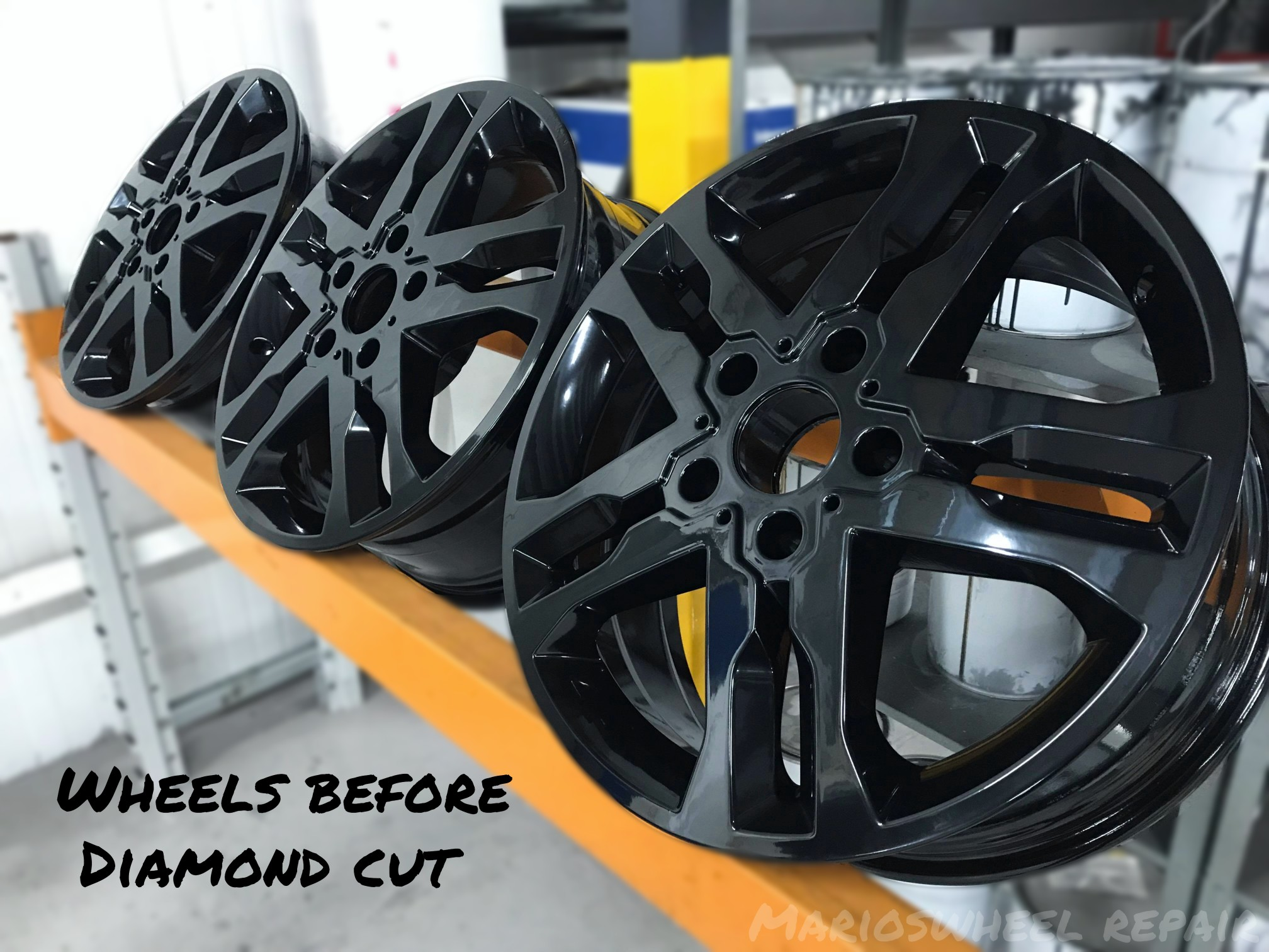 We have all the tools needed to remove, refit and balance tire up to 24'' and the practical experience you would hope to restore your cracked wheel.