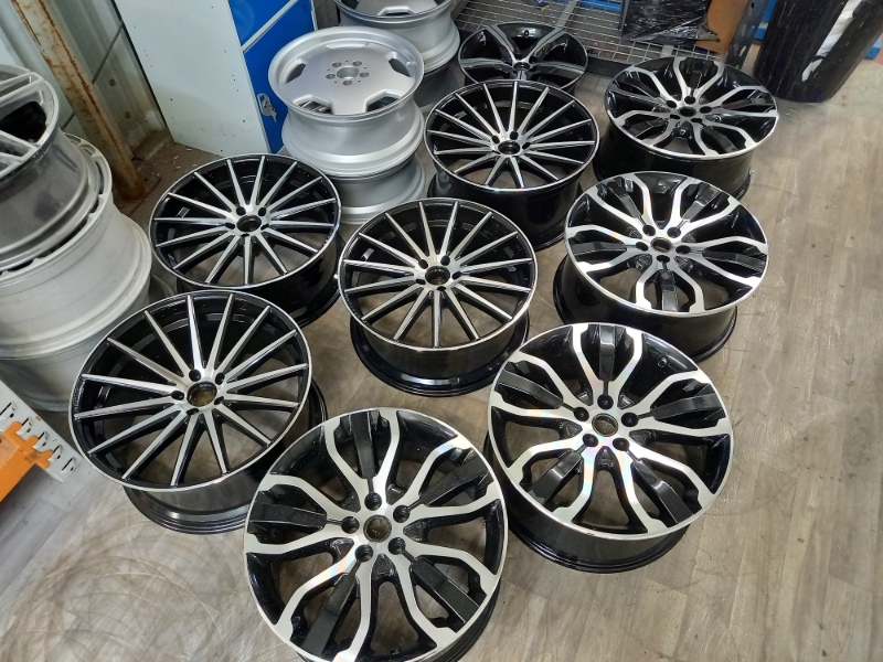 Diamond Cut Wheels